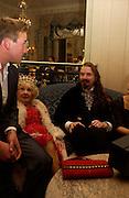 Ben Fogle, Kay Lockwood, CountAlexander,Outside the Tatler Travel Awards, Ritz. © Copyright Photograph by Dafydd Jones 66 Stockwell Park Rd. London SW9 0DA Tel 020 7733 0108 www.dafjones.com