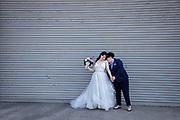Bride and bride together