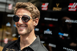May 9, 2019 - Barcelona, BARCELONA, SPAIN - BARCELONA, CATALONIA, SPAIN 9 of May. Romain Grosjean driver of Haas F1 Team at the paddock of Spanish GP at Circuit de Barcelona (Credit Image: © AFP7 via ZUMA Wire)