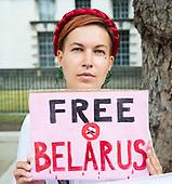 Belarus rally in London 17th August 2020