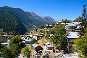 A Traditional rural and remote village in the Himalayas, Himachal Pradesh, India