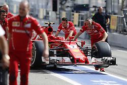 May 13, 2017 - Barcelona, Spain - Motorsports: FIA Formula One World Championship 2017, Grand Prix of Spain, ..mechanic of Scuderia Ferrari  (Credit Image: © Hoch Zwei via ZUMA Wire)