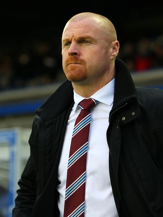 Burnley's Manager Sean Dyche..Football - npower Football League Championship - Birmingham City v Burnley - Saturday 22nd December 2012 - St Andrews - Birmingham..