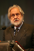 Institute of Directors Annual Convention, Albert Hall, London, UK...Lord Puttnam. Chancellor of the Open University.
