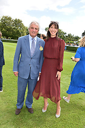 29 July 2021 - The QATAR Goodwood Festival Ladies Day at Goodwood Racecourse, West Sussex.<br /> Picture Shows - Viscount Astor and Samantha Cameron.<br /> <br /> NON EXCLUSIVE - WORLD RIGHTS