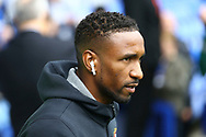 Jermain Defoe of Bournemouth looks on as he arrives for todays game. Premier league match, Everton vs Bournemouth at Goodison Park in Liverpool, Merseyside on Saturday 23rd September 2017.<br /> pic by Chris Stading, Andrew Orchard sports photography.