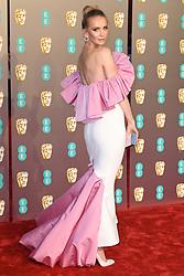 Tatiana Korsakova attending the 72nd British Academy Film Awards held at the Royal Albert Hall, Kensington Gore, Kensington, London