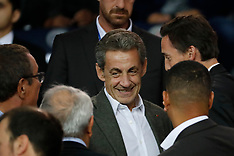 Nicolas Sarkozy Watches PSG v Saint-Etienne - 14 Sept 2018