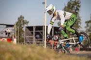 #77 (SAKAKIBARA Kai) AUS during practice at Round 9 of the 2019 UCI BMX Supercross World Cup in Santiago del Estero, Argentina
