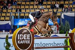 BORMANN Finja (GER), A crazy son of Lavina<br /> München - Munich Indoors 2019<br /> CSI4* - IDEE KAFFEE Preis (Große Tour)<br /> Zwei-Phasen Springprüfung, international<br /> Höhe: 1.45m<br /> 22. November 2019<br /> © www.sportfotos-lafrentz.de/Stefan Lafrentz