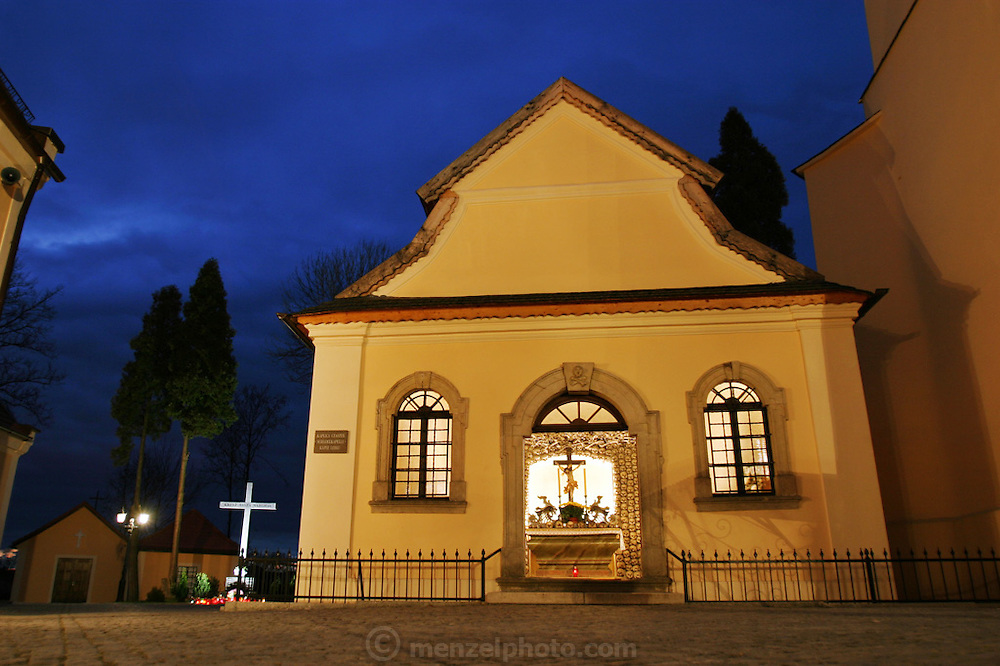 Bone Chapel at Kudowa Zdroj, Poland.