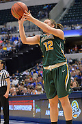 April 4, 2016; Indianapolis, Ind.; Jenna Buchanan puts up a shot in the NCAA Division II Women's Basketball National Championship game at Bankers Life Fieldhouse between UAA and Lubbock Christian. The Seawolves lost to the Lady Chaps 78-73.