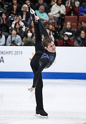 February 7, 2019 - Los Angeles, California, U.S - Jason Brown of USA competes in the Men Short Program during the ISU Four Continents Figure Skating Championship at the Honda Center in Anaheim, California on February 7, 2019. (Credit Image: © Ringo Chiu/ZUMA Wire)