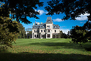 Chateau-sur-Mer built 1852 one of the famous elegant Newport Mansions on Rhode Island, USA