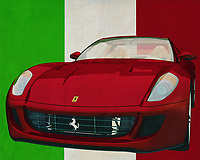 The Ferrari 599 GTB Fiorano from 2006 clearly distinguishes itself from all other sports cars driving around. Not only the design of the Ferrari 599 GTB is copied many times, but other car brands try to approach the performance of the Ferrari 599 GTB. Without success because the Ferrari 599 GTB is so pure Italian and exudes so much class that the others have a hard time checking it out. -<br /> <br /> BUY THIS PRINT AT<br /> <br /> FINE ART AMERICA<br /> ENGLISH<br /> https://janke.pixels.com/featured/ferrari-599-gtb-fiorano-from-2006-the-sports-car-with-italian-roots-jan-keteleer.html<br /> <br /> <br /> WADM / OH MY PRINTS<br /> DUTCH / FRENCH / GERMAN<br /> https://www.werkaandemuur.nl/nl/werk/Ferrari-599-GTB-Fiorano-uit-2006-de-sportwagen-met-Italiaanse-roots/637101/134?mediumId=1&size=70x55