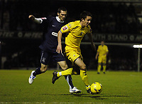 Photo: Olly Greenwood.<br />Southend United v Preston North End. Coca Cola Championship. 11/11/2006. Preston's Lewis NeaL goes past Southend's Mitchell Cole