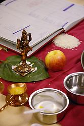 Chopda Poojan at Diwali celebrations,