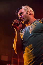 © Licensed to London News Pictures. 18/04/2016. Pop group Patent Pending play at The Garage in London on April 18,2016. Photo credit: Colin Hart/LNP