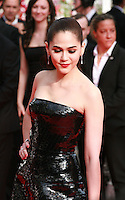 Araya A. Hargate at The Search gala screening red carpet at the 67th Cannes Film Festival France. Tuesday 20th May 2014 in Cannes Film Festival, France.