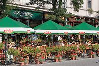 Delikatesy Restaurant on Rynek Glowny, Krakow's main market square