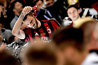 Delusione Leonardo Bonucci Milan<br /> Roma 09-05-2018  Stadio Olimpico  <br /> Football Calcio Finale Coppa Italia / Italy's Cup Final 2017/2018 Juventus - Milan<br /> Foto Antonietta Baldassarre / Insidefoto