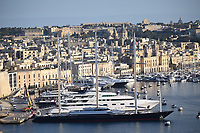 Maltese Falcon in  the Harbour in Valetta