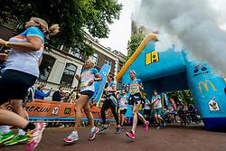 24-06-2017 NED: Start Homeside & Homerun, Utrecht<br /> Vanaf de Domplein startte de HomeRide en Homerun. Een 500km en 200 km event in 24 uur.