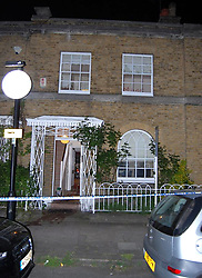 Undated handout photo issued by the Crown Prosecution Service of the front of the property where Lizzie Purbrick, used pigÕs blood to daub lewd messages inside Tory peer David Prior's house. The 63-year-old entered the property after she found he had cheated on her, Camberwell Green Magistrates' Court has heard. ... Lizzie Purbrick court case ... 17-07-2018 ... UK ... Photo credit should read: Crown Prosecution Service/Press Association Images. Unique Reference No. 37622697 ... Issue date: Tuesday July 17, 2018. The former Olympic showjumper admitted to one charge of criminal damage to the home in Kennington, south London and has been sentenced to 120 hoursÕ community service and imposed a restraining order. See PA story COURTS Purbrick. Photo credit should read: Crown Prosecution Service/PA Wire NOTE TO EDITORS: This handout photo may only be used in for editorial reporting purposes for the contemporaneous illustration of events, things or the people in the image or facts mentioned in the caption. Reuse of the picture may require further permission from the copyright holder.
