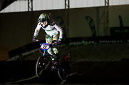 at the UCI BMX Supercross World Cup in Chula Vista, CA.