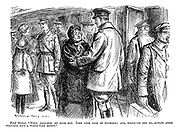 """Fond mother. """"Well, good-bye, my dear boy. Take good care of yourself; and, whatever you do, always avoid trenches with a north-east aspect."""""""
