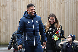 Watford's Andre Gray before the Premier League match at Turf Moor, Burnley.