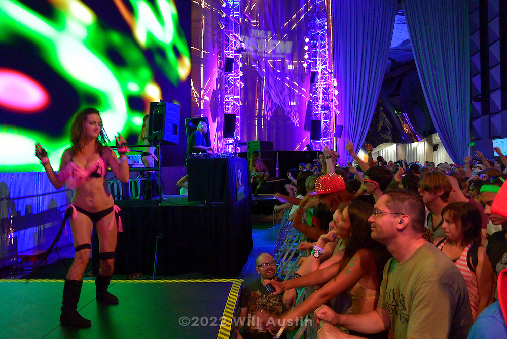 EDM showcase at Bumbershoot 2013 in Seattle, WA USA