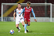 Devarn Green  during the EFL Sky Bet League 2 match between Scunthorpe United and Bolton Wanderers at the Sands Venue Stadium, Scunthorpe, England on 24 November 2020.