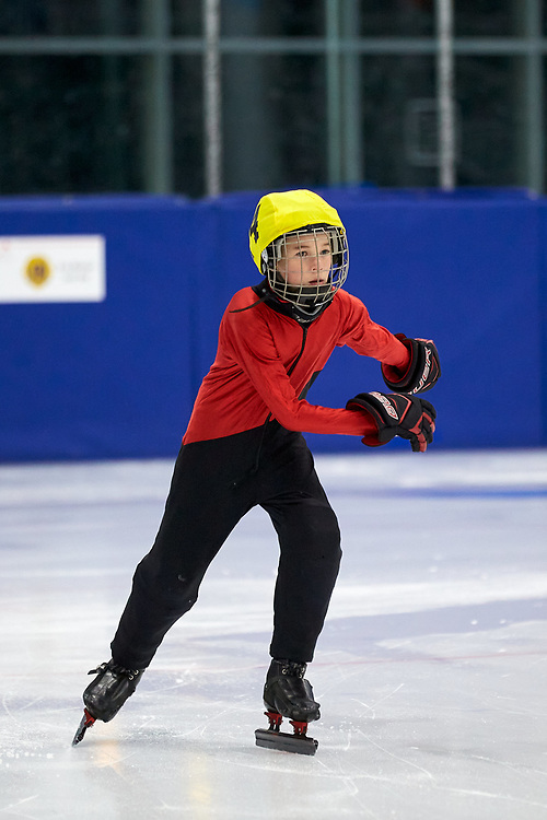 Speed skating trials for the 2020 Arctic Winter Games were held on ATCO ice at the Canada Games Centre on December 8, 2019.<br /> @awg.2020 #awg2020 #awgtrials #speedskating