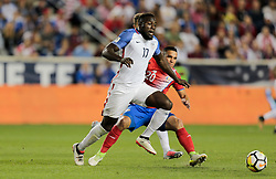 September 1, 2017 - Harrison, NJ, USA - Harrison, N.J. - Friday September 01, 2017:   Jozy Altidorey during a 2017 FIFA World Cup Qualifying (WCQ) round match between the men's national teams of the United States (USA) and Costa Rica (CRC) at Red Bull Arena. (Credit Image: © John Dorton/ISIPhotos via ZUMA Wire)