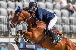 Fredricson Peder, SWE, H&M All In<br /> European Championship Jumping<br /> Rotterdam 2019<br /> © Hippo Foto - Dirk Caremans