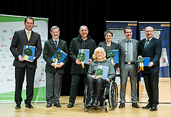 Presentation of a new stamp issued by Posta Slovenije with picture of Veselka Pevec, Paralympic shooting Gold medallist in Rio 2016, photographed by Vid Ponikvar, on December 7, 2016 in Videm, Slovenia. Photo by Vid Ponikvar / Sportida