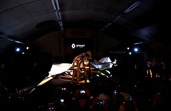 The car unveiling during the Renault F1 Team 2019 season launch at Whiteways Technical Centre, Oxford.