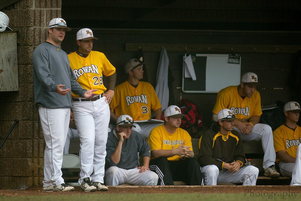 Rowan University Baseball hosts Ramapo College in the 2nd round of the NJAC tournament on Thursday May 3, 2012 in Glassboro, NJ. (photo / Mat Boyle)