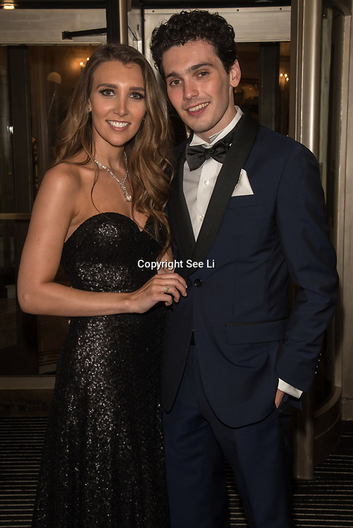 Lucy Kane and Jack Rowan attend the Rainbows Celebrity Charity Ball at Dorchester Hotel on June 1, 2018 in London, England.