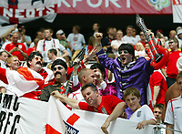 Photo: Chris Ratcliffe.<br /> England v Paraguay. Group B, FIFA World Cup 2006. 10/06/2006.<br /> England fans dressed as the Beatles.