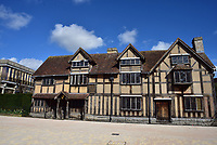 stratford upon avon the birthplace of William Shakespeare  is like a ghost town as people stay away  stay away due to the Coronavirus   photo by Mark Anton Smith
