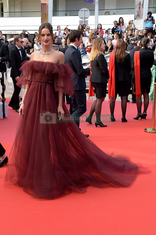 Izabel Goulart attending the Oh Mercy! premiere, during the 72nd Cannes Film Festival