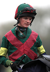 Jockey Rob Hornby after his ride on Pull The Pin in the Betway Best Odds Guaranteed Handicap