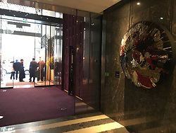 The Mandarin Hotel in Paris, France on January 22, 2019, were Chris Brown arrested. US singer Chris Brown was arrested in Paris yesterday morning January 21, 2019, with two other people on suspicion of rape, a French police source said. Three men had been detained after a 24-year-old woman alleged she was raped at Brown's hotel suite on the night of January 15. Photo by ABACAPRESS.COM