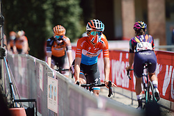 Christine Majerus (LUX) at Strade Bianche - Elite Women 2020, a 136 km road race starting and finishing in Siena, Italy on August 1, 2020. Photo by Sean Robinson/velofocus.com