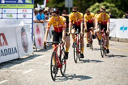 Jonas Iversby HVIDEBERG of UNO - X PRO CYCLING TEAM4 during 1st Stage of 27th Tour of Slovenia 2021 cycling race between Ptuj and Rogaska Slatina (151,5 km), on June 9, 2021 in Slovenia. Photo by Vid Ponikvar / Sportida