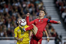 March 22, 2019 - Na - Lisbon, 03/22/2019 - The Portuguese Football Team received its Ukrainian counterpart this afternoon at the Estádio da Luz in Lisbon, in the Group B game, in the qualifying round for the 2020 European Championship. Oleksandr Karavaev; Cristiano Ronaldo  (Credit Image: © Atlantico Press via ZUMA Wire)