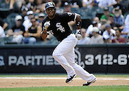 CHICAGO - JULY 08:  Andruw Jones #25 of the Chicago White Sox runs the bases against the Los Angeles Angels of Anaheim on July 8, 2010 at U.S. Cellular Field in Chicago, Illinois.  The White Sox defeated the Angels 1-0.  (Photo by Ron Vesely)