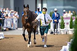 Layne Kelly, AUS, Samhitas, 102<br /> Olympic Games Tokyo 2021<br /> © Hippo Foto - Dirk Caremans<br /> 23/07/2021